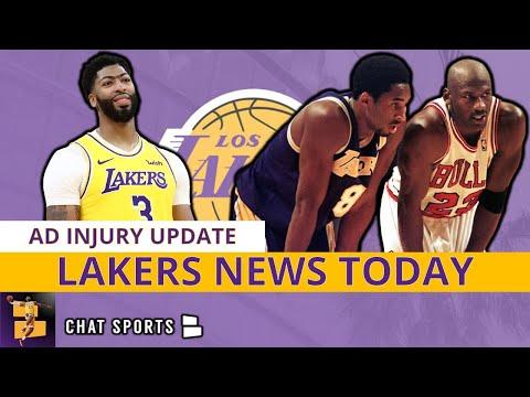 Lakers News: Anthony Davis Injury Update, Michael Jordan Presenting Kobe At HOF, NBA Playoff Picture