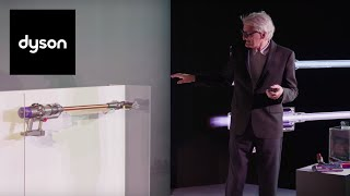 James Dyson unveils the Dyson Cyclone V10™ cordless vacuum in New York