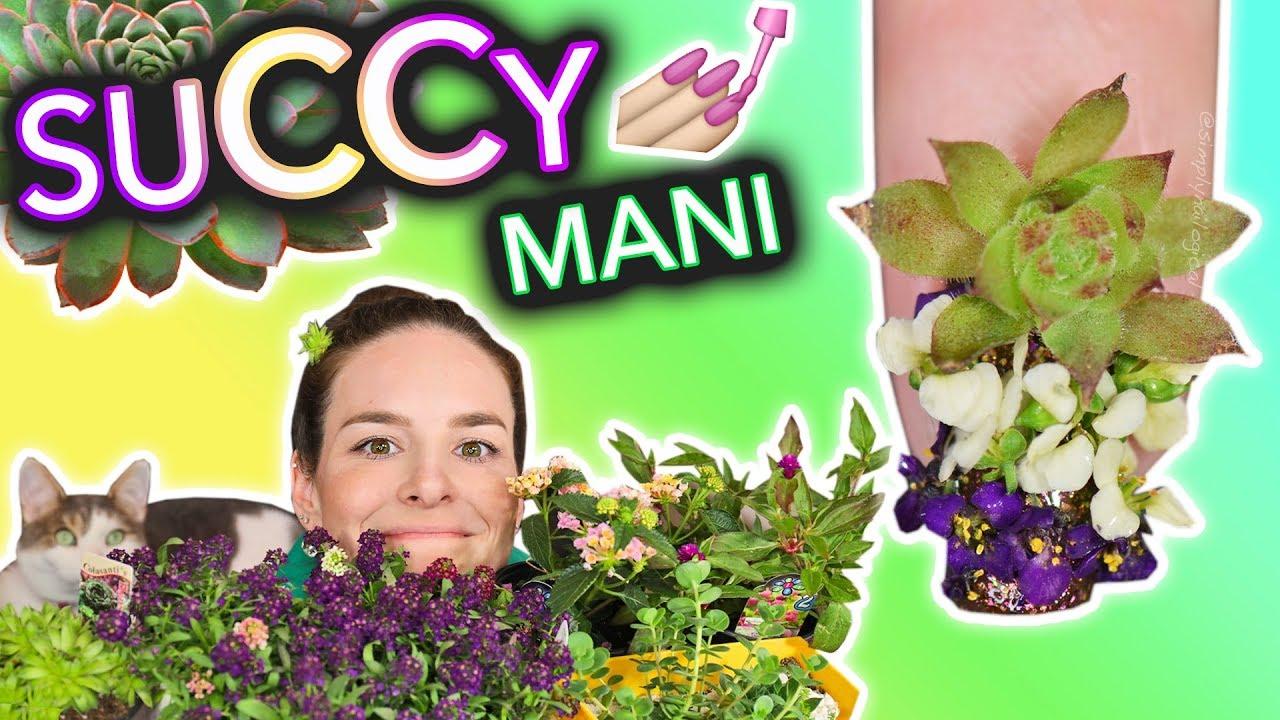 Succulent Nails (a garden hoe tutorial) thumbnail