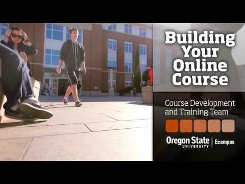 Course Development & Training Team - Building your online course ...