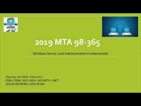 MTA 98-365 Windows Server 2016 - Understanding File and Print ...