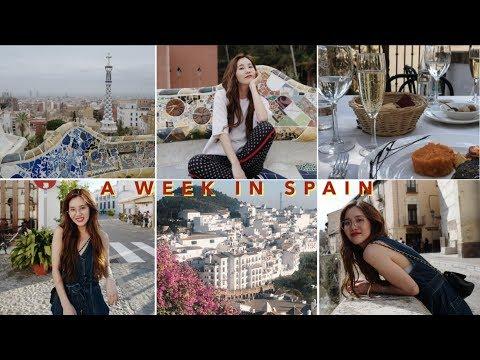 A WEEK IN SPAIN: Granada, Frigiliana, Málaga, & Barcelona 🇪🇸