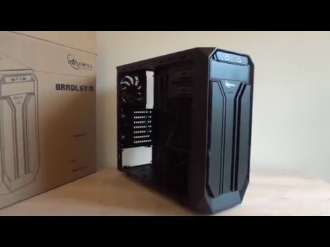 Rosewill Bradley M mid-ATX gaming computer case review