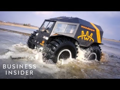 Russian SHERP ATV Can Save Lives In Dangerous Conditions