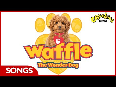 CBeebies Songs | Waffle The Wonder Dog | Theme Song