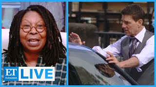 Whoopi Reacts To Tom Cruise's On-Set COVID Rant