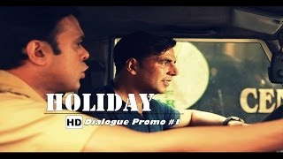 Dialogue Promo 1 - Holiday - A Soldier Is Never Off Duty