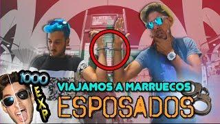 Viajamos ESPOSADOS a MARRUECOS! RETOS EXTREMOS de YOUTUBERS [1000 EXPERIENCIAS]