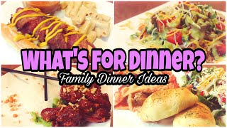What's For Dinner? | Family Dinner Ideas | Budget Friendly Meals