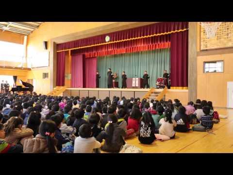 青空応援団 2015-03-27 仙台市立愛子小学校 ②