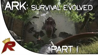 """Ark: Survival Evolved Gameplay - Part 1: """"First Impressions!!"""" (Giveaway Ended)"""