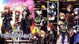 KINGDOM HEARTS 3 All Cutscenes (XBOX ONE X ENHANCED) Game Movie