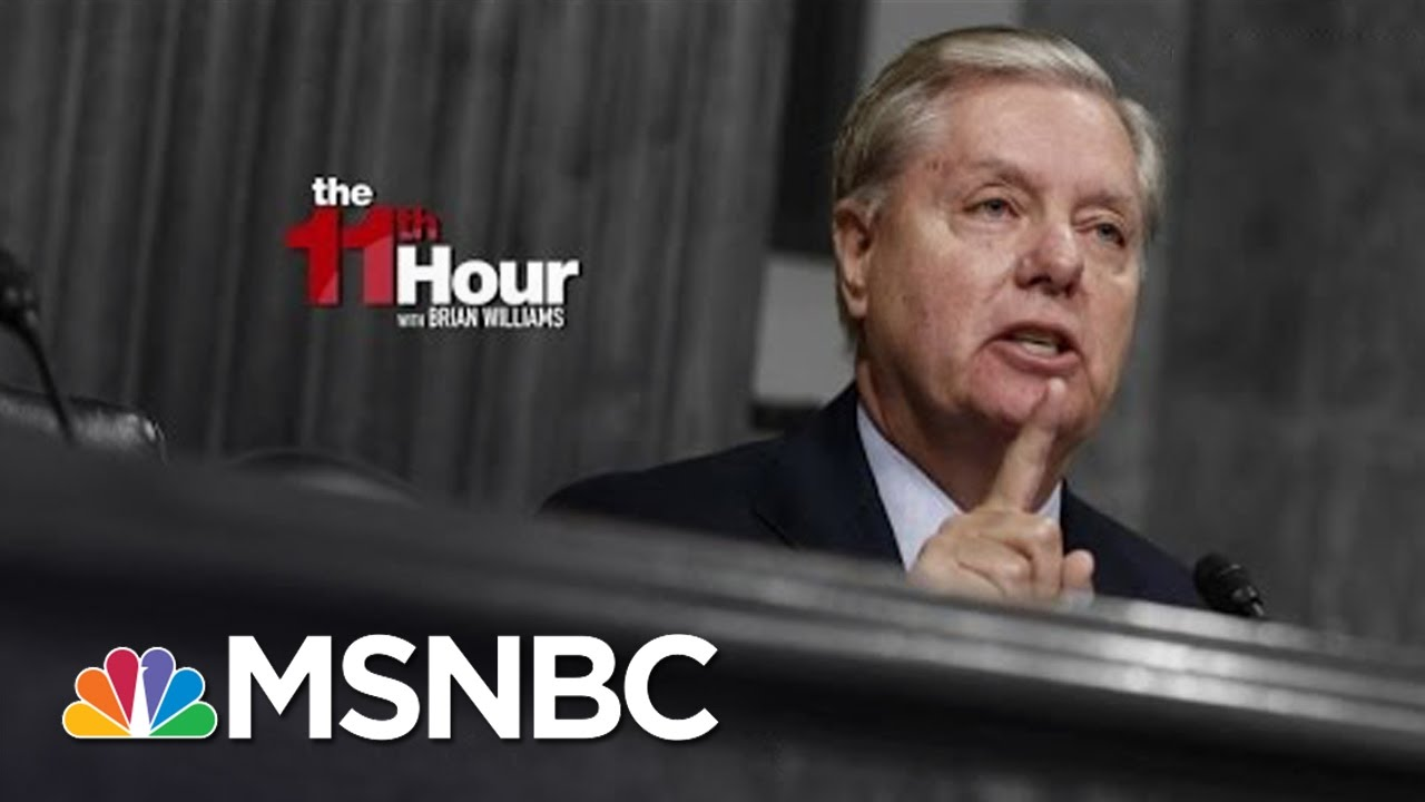 Senator Lindsey Graham To FBI On Wiretaps: You're About To Screw Up Big Time | The 11th Hour | MSNBC thumbnail