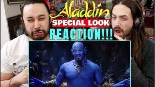 Disney's ALADDIN - SPECIAL LOOK | REACTION!!!