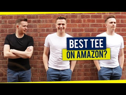 Best Fitting T-Shirt On Amazon? | 7 Brands Compared - Stretch Tee Roundup