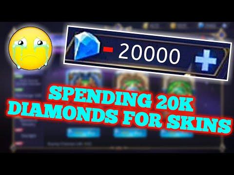 SPENDING 20K DIAMONDS TO GET LANCELOT EPIC SKIN   MOBILE LEGENDS