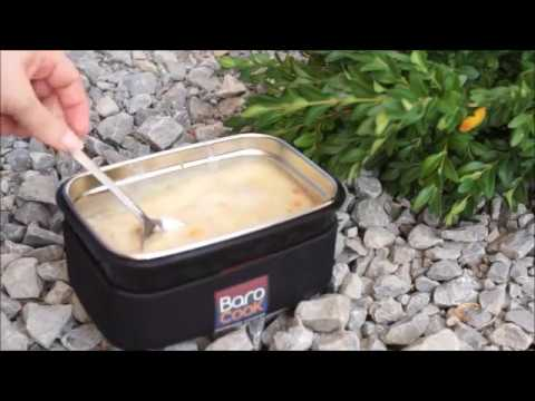 Test - BaroCook - Kochen ohne Gas, Feuer, Strom - Izzy Sport - Barcocook cookign without fire