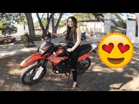 ENSEÑO A MI NOVIA USAR LA MOTO!!! (BayBaeBoy Vlogs)