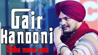 Gair Kanooni By Sidhu Moosewala   Byg Byrd   New Punjabi Song 2019