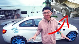 """ALEX CHOI CONFESSES & EXPLAINS CRASHING MOM""""S MERCEDES S-CLASS IN BEVERLY HILLS!"""