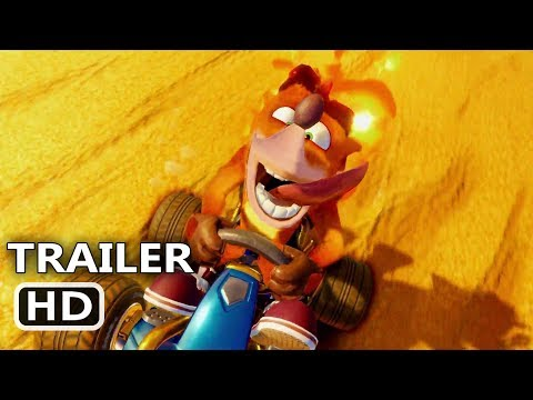 CRASH TEAM RACING Nitro-Fueled Official Trailer (2019) Video Game HD