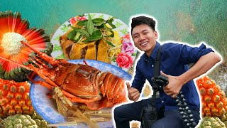 Ăn HẢI SẢN NGON cạnh Gành Đá Đĩa |Du Lịch ẩm thực Phú Yên #2