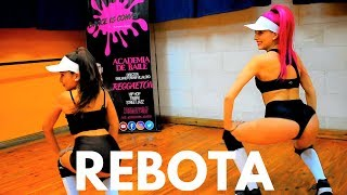 REBOTA - ECKO (Ft. Khea Seven Kayne lacho) TWERK by Rocio Ramirez / Dance is convey (HD)