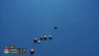 Just. 2019 World Indoor Bowls Championships: Day 9 Session 1