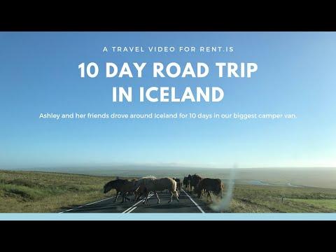 10 day Road trip in Iceland - Camper Rental Iceland