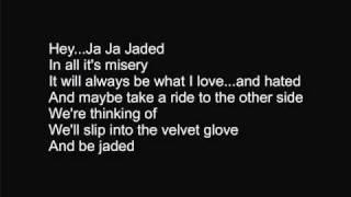 Aerosmith - Jaded with lyrics