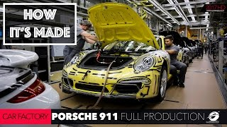 HOW IT'S MADE: CAR FACTORY Porsche 911 Production: How to Porsche 911 is Made