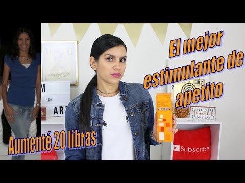 EL MEJOR ESTIMULANTE DE APETITO | AUMENTÉ 20 LIBRAS 😱 | APETAMIN | Glam&Art