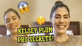 Kelsey Plum Has The SECRETS To Going Pro! Reveals Her FAVORITE High School Players 😱