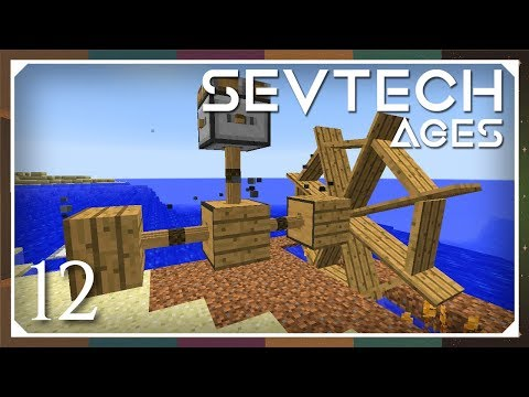 Sevtech: Ages | Better With Mods Water Wheel & Bucket! | E12