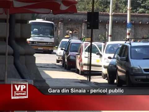 Gara din Sinaia – pericol public