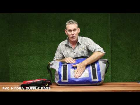 Hydra PVC Duffle Bags