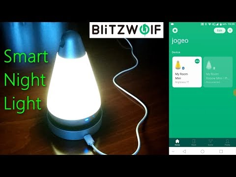 BlitzWolf BW-LT12 Portable Smart Night Light - Unboxing/Setup/Hands-On