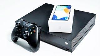 Распаковка Xbox One X - самая мощная консоль в мире!