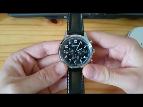 "Gigandet G50-004 ""Efficiency"" Review - Eleganter Quarz-Chronograph!"