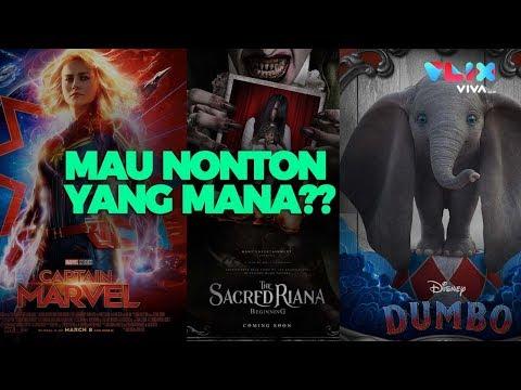 Daftar film bioskop wajib tonton bulan maret 2019    mau nonton yang mana
