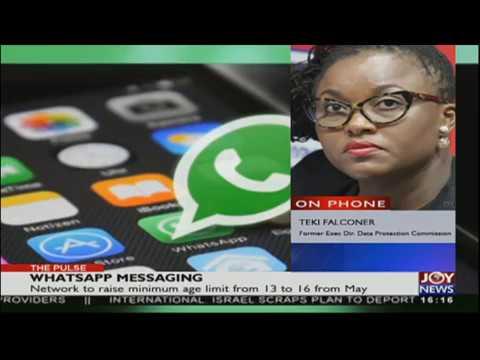 Whatsapp Message - The Pulse on JoyNews (25-4-18)