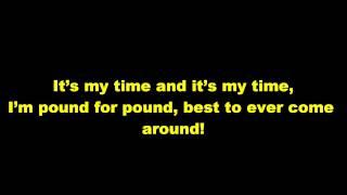 2NE1- Can't Nobody Lyrics (English Version)