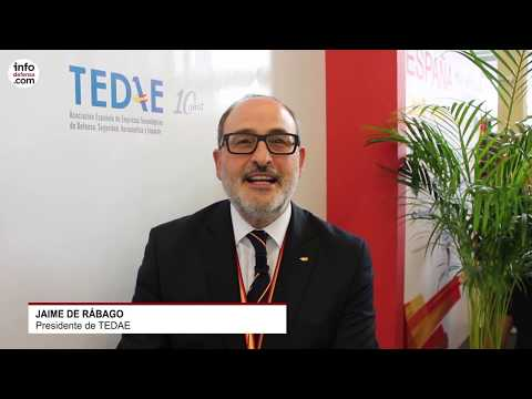TEDAE lleva a Expodefensa 2019 una delegación con doce empresas españolas