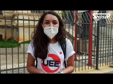 No Dia Internacional das Mulheres o apoio foi para a greve das/os profissionais da educação municipal