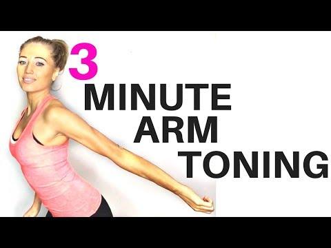 eeed13e512387 ARM TONING WORKOUT FOR WOMEN - 3 minute routine to help lose arm fat and  tone your arms START NOW kung paano sa pag-inom ng asin upang alisin ang  taba ng ...