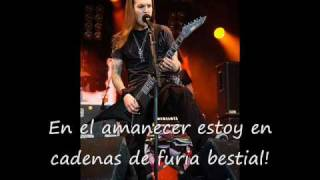 Touch like an angel of death Children of bodom español