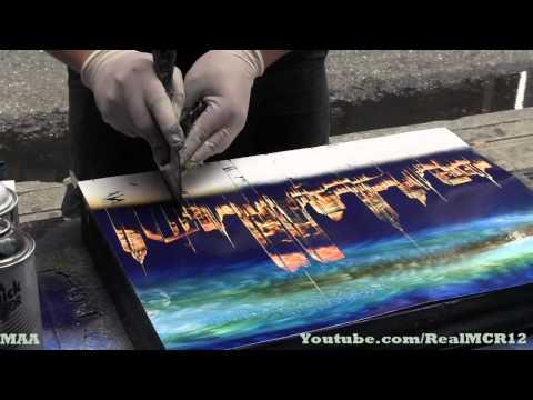 , title : 'Amazing Talent - New York City Spray Paint Art'