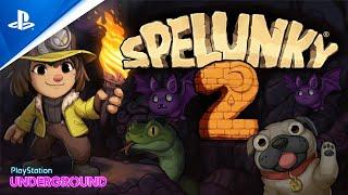 Spelunky 2 - Gameplay | PlayStation Underground
