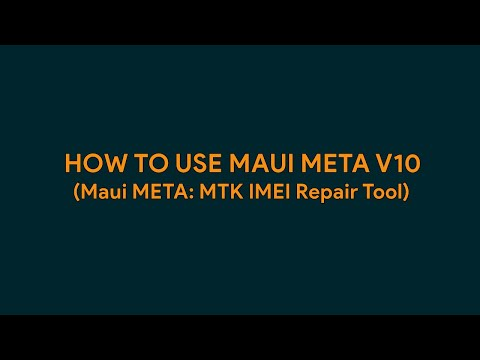 How To Use Maui META v10 - [romshillzz]