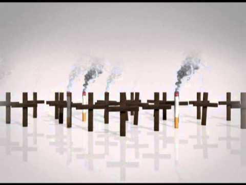 Warum geht Rauchen aufgebend in die Breite